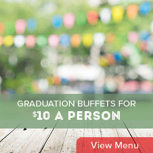 $10 Graduation Party Buffets